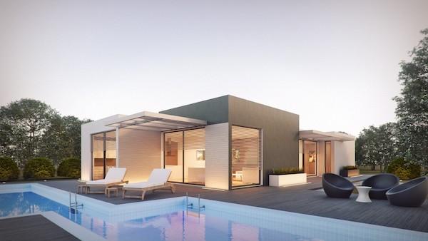 architecture render external design photoshop