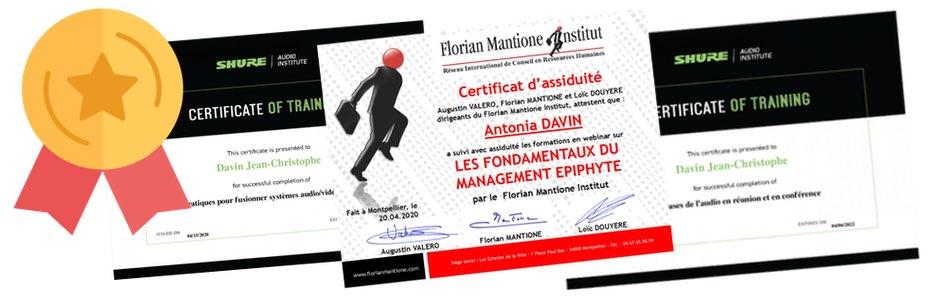 banniere certificate